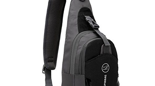 Peicees Waterproof Sling Bag Crossbody Chest Pack one shoulder ...
